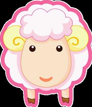 漂亮可爱的羊儿抠图素材