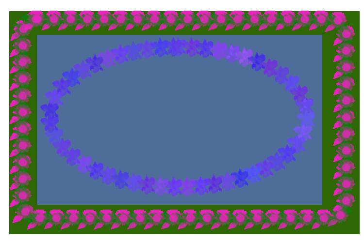 """对外层""""圆角矩形""""边框进行了两次描边——用两种"""