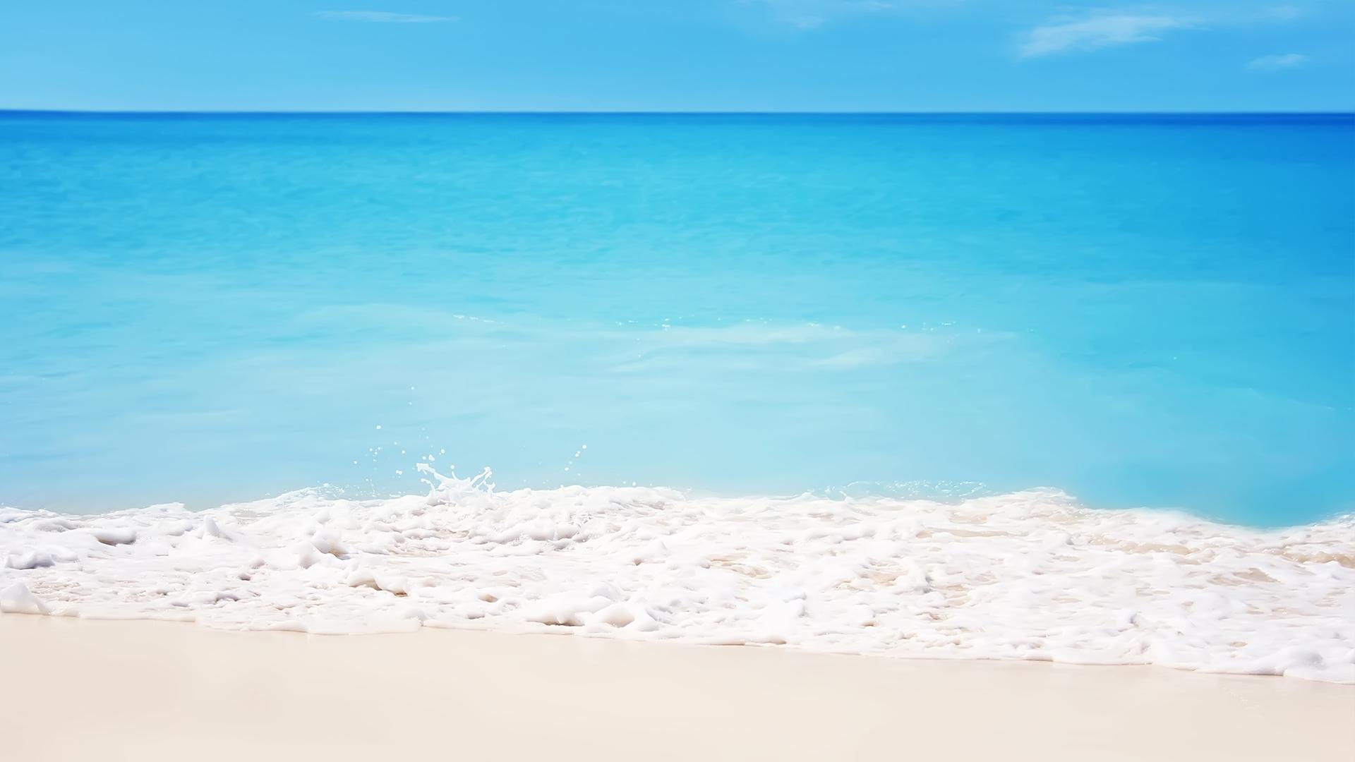 唯美漂亮的大海壁纸图片